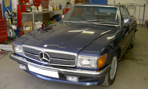 A Gallery Of Repairs Completed By A J Cobb Body Repair Centre - Mercedes benz body repair centre